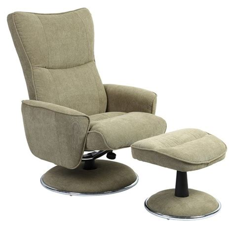 recliner with ottoman fabric avocado fabric swivel recliner with ottoman 838 008 uph