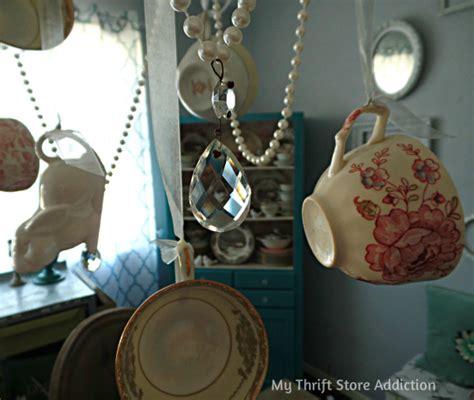 Make Steunk L by Teacup Chandelier Diy Handmade Teacup Chandelier Using
