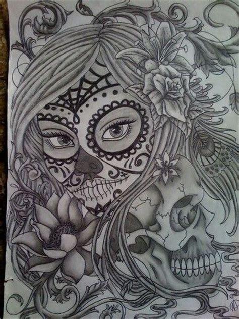 sugar skull girl tattoo designs sugar skull design tattoos skull