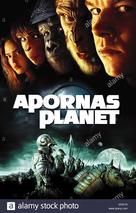 Planet Apes 2001 Full Movie Movie Poster Planet Of The Apes 2001 Stock Photo Royalty Free Image 78242618 Alamy