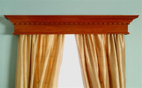 Wooden Cornices For Sale Crestwood Dentil Custom Wood Window Cornices