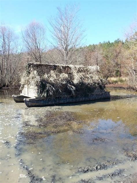duck hunting pontoon boat for sale duck blind from an old pontoon boat ideas and other