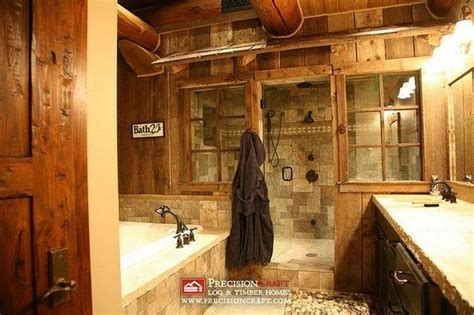 log home bathroom ideas rustic luxury bathroom ideas pinterest