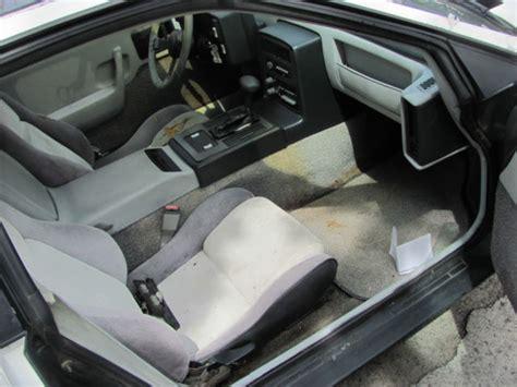 Fiero Interior Parts by 1985 Pontiac Fiero Parts Car Only