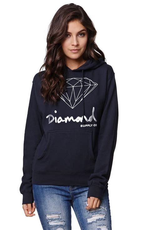 Hoodie One Diamend Clothing supply co og script pullover from pacsun new arrivals