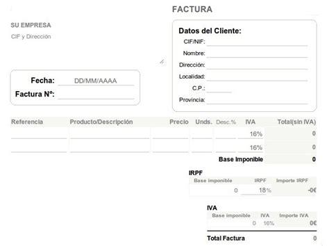 descargar plantillas facturas servicios profesionales cinco aplicaciones de facturaci 243 n para pymes y aut 243 nomos