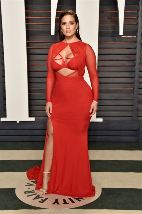 Oscars Ashley Graham | ashley graham 2016 vanity fair oscar party in beverly