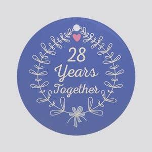 28th Wedding Anniversary Gifts   CafePress