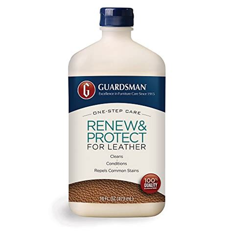 Guardsman Upholstery Cleaner by Guardsman 471300 Renew Protect Leather Cleaner Painting Products Express