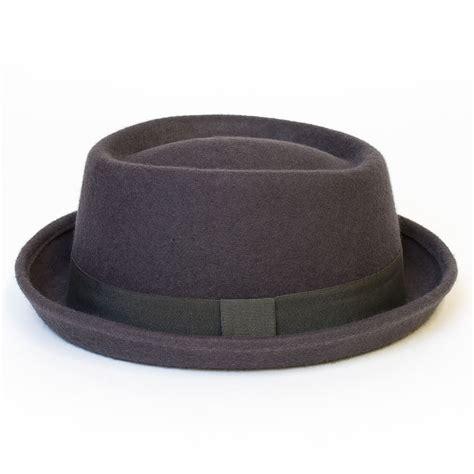 Porkpie Hat 2 mens 100 wool pork pie trilby fedora porkpie hat
