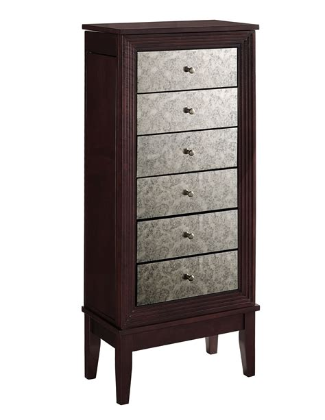 jewelry armoire macys l powell ava jewelry armoire shop your way online