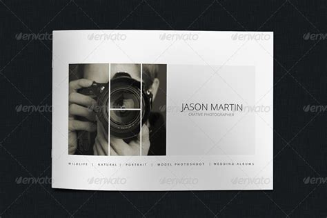 20 Best Portfolio Brochure Template Designs Photography Portfolio Template