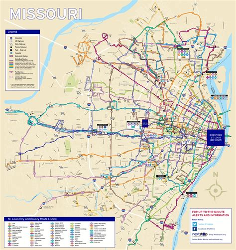 map usa st louis system maps metro transit st louis