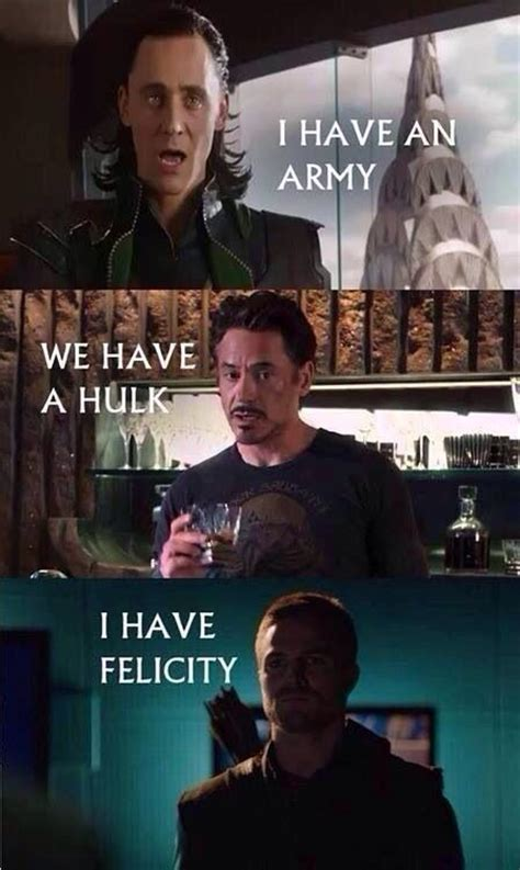 Arrow Meme - arrow memes i do like felicity more then bruce just