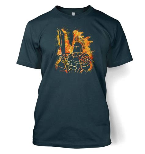 Rpg And Tech T Shirts by Rpg Fiery T Shirt Somethinggeeky