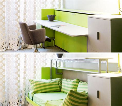 Bed To Desk Conversion by How To Make The Most Of Small Spaces In Your Home