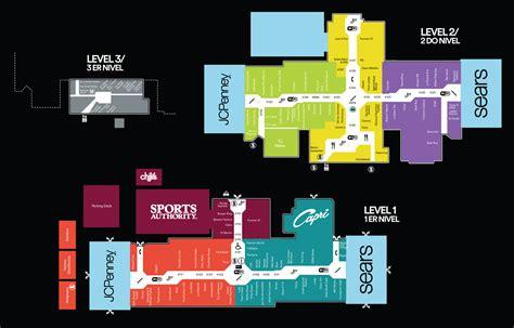 mall of louisiana inside map mall map of plaza carolina a simon inside las americas