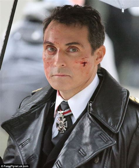 rufus sewell and ben miles rufus sewell gets to work playing nazi official in the man