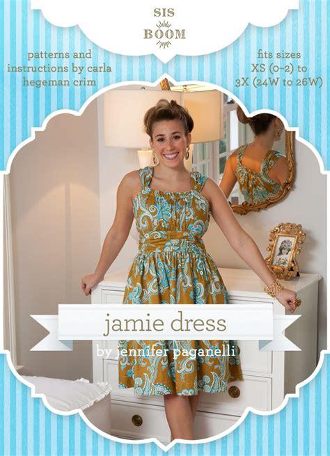 jamie pattern sis boom jamie dress sewing pattern