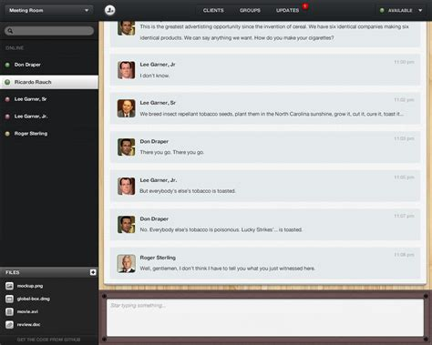 socket io chat room rickyrauch balloons io balloons io is a web multi room chat server and client ready to use it s