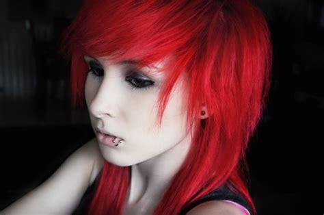 emo hairstyles for redheads red scene hair tumblr hair wishes pinterest scene