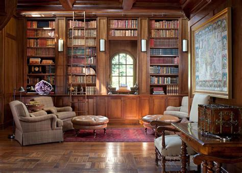 Home Library Design Pictures | 30 classic home library design ideas imposing style