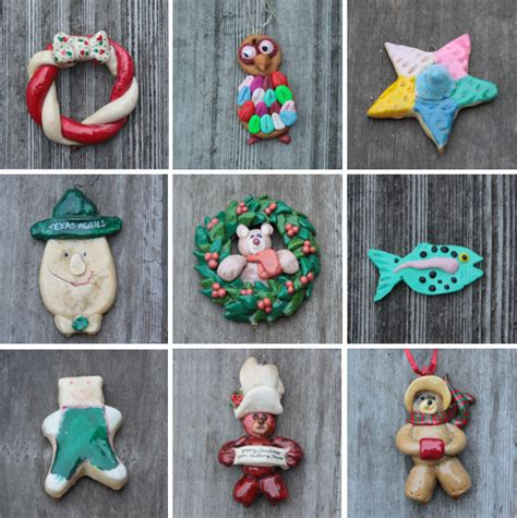 how to make bread dough christmas ornaments