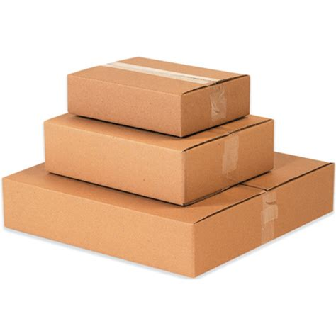 Handmade Cardboard Boxes - 15 quot x 12 quot x 5 quot flat boxes