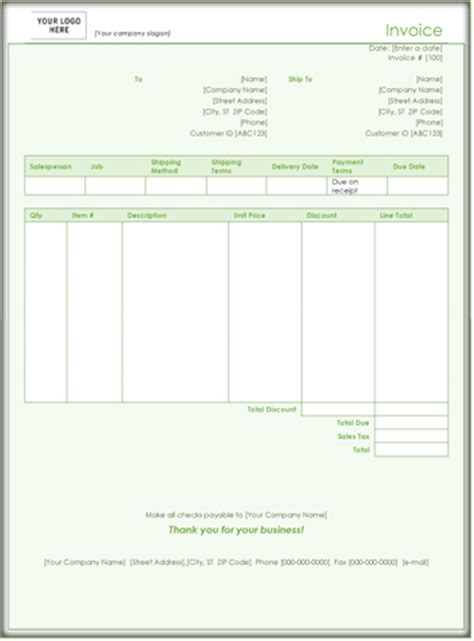 sle invoice word doc 9 sales invoice templates download sle form