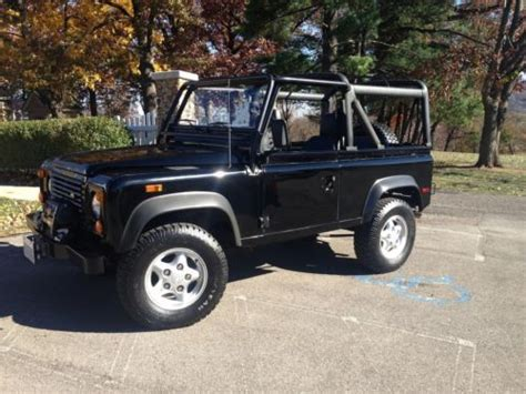 land rover defender 90 convertible sell used land rover nas defender 90 st convertible 4x4 in