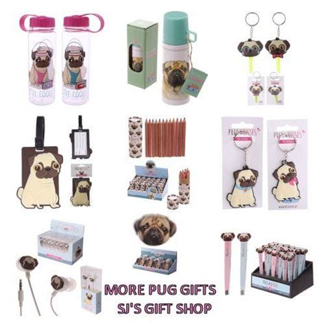 gifts with pugs on more pug gifts pug keyring phones flask drink tag new ebay