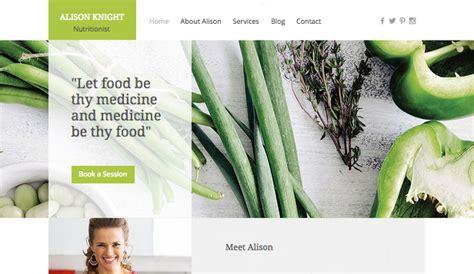 health and wellness website templates dietitian wix template wix health wellness template