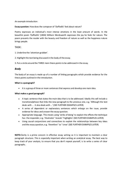 Descriptive Essay Introduction Exles by Write Descriptive Essay