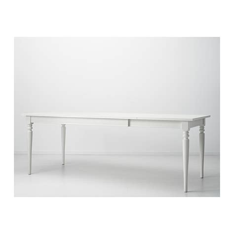 ikea ingatorp dining table ingatorp extendable table white 155 215x87 cm ikea