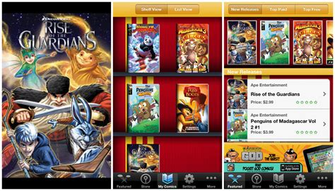 best comic reader android top 7 interesting comic book reader apps for android