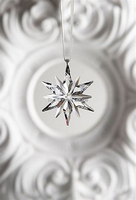 swarovski swarovski 2011 christmas ornament little star