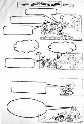 EMEF Alm. Ary Parreiras: Histórias em quadrinhos - início.