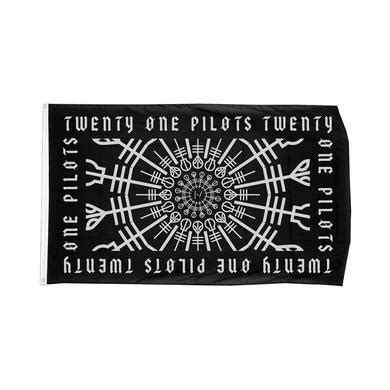twenty one pilots pattern frame flag twenty one pilots merch t shirts hats posters and vinyl