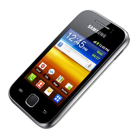 samsung y 7 samsung galaxy y 7 2mbps 3 quot display and 3g features