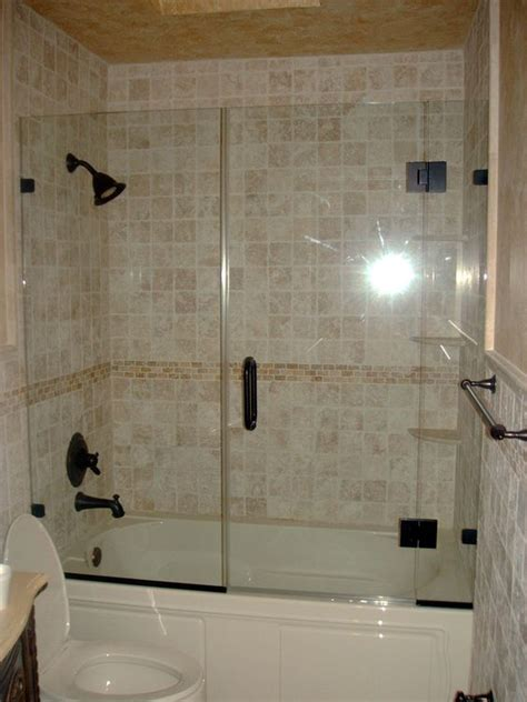 shower door on bathtub best remodel for tub shower enclosure glass tub