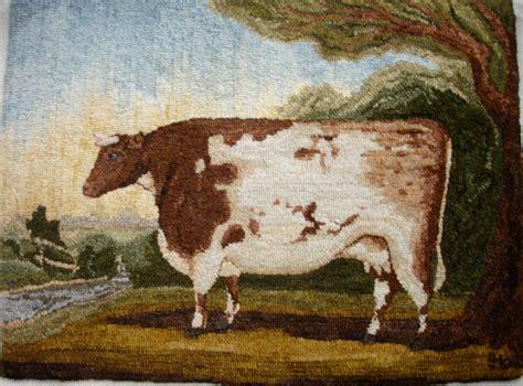 cow pattern rug durham cow rug hooking pattern