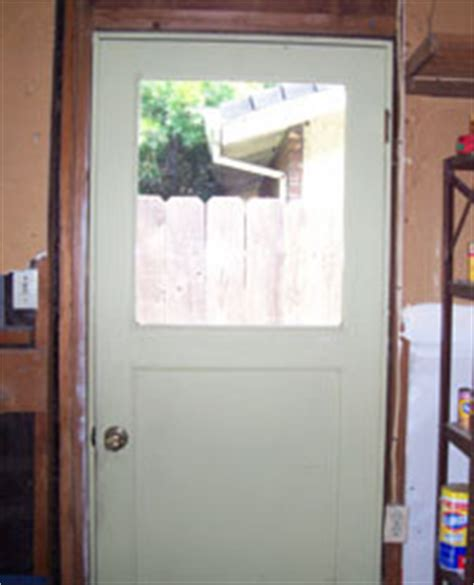 Replacing Garage Side Door by Home Safety City Of Stockton Ca
