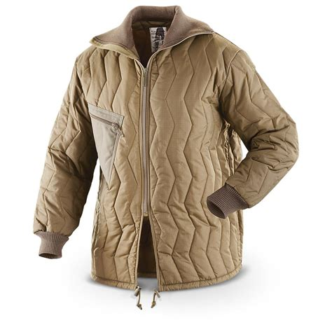 How To Make A Quilted Jacket by German Surplus Quilted Jacket Used 230026