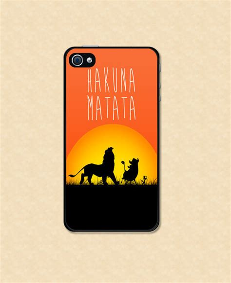 Disney The King Hakuna Matata Iphone 4 4s 5 5s 6 6s 6 Plus iphone hakuna matata iphone from happy wallz