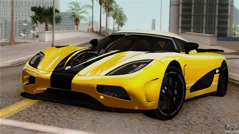 koenigsegg agera r black and yellow koenigsegg agera r 2014 for gta san andreas