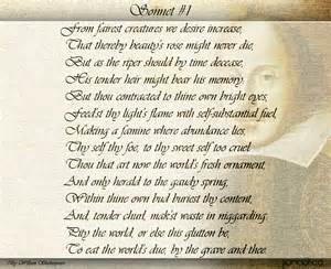 william shakespeare s sonnets welcome to pandorica
