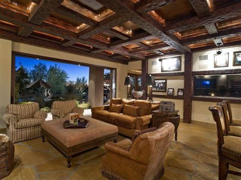 Exposed Beam Ceiling Living Room 47 Beautiful Living Rooms With Ottoman Coffee Tables