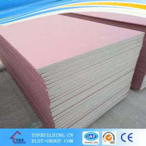 Moisture Resistant Gypsum Board Ceiling by China Standard Board Fireproof Gypsum Board Moistureproof