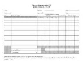 travel expense form template best photos of template of expenses sle expense