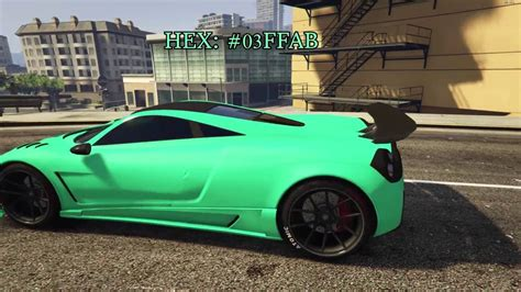 mint color car gta badass mint color for your cars requested